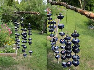 Windspiele Für Den Garten : windspiel basteln aus kronkorken garten fr ulein der garten blog ~ Bigdaddyawards.com Haus und Dekorationen