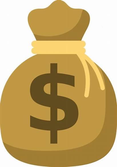 Money Bag Symbol Clipart Dollar Saving States