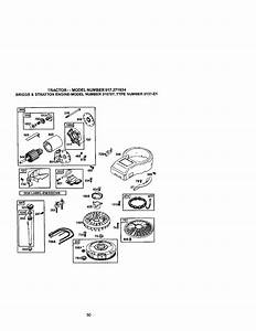 Craftsman 917271634 User Manual Lawn Tractor Manuals And