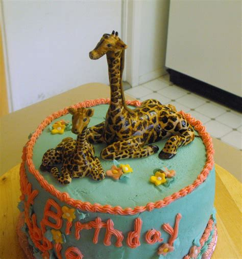 giraffe cake  cake decorating community cakes  bake