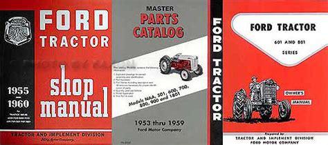 ford     manual brochure set reprint