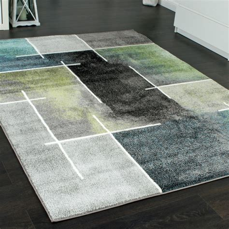 teppich in grau modern trendig meliert eyecatcher in grau teppich de