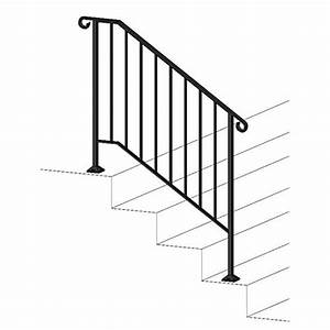 Outdoor Stair Railing  Amazon Com