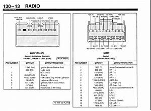 What Are The Color Codes On A Factory 1995 Ford Explorer Radio Speaker Wiring