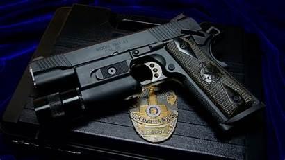 Police Badge Gun M1911 Springfield Weapon 1911