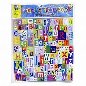 buy new scrapbooking die cut letter stickers case pack With die cut letter stickers