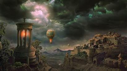 Fantasy Worlds Wallpapers Wallpapersafari
