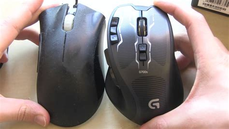Logitech G700s Wireless Gaming Mouse Unboxing And First