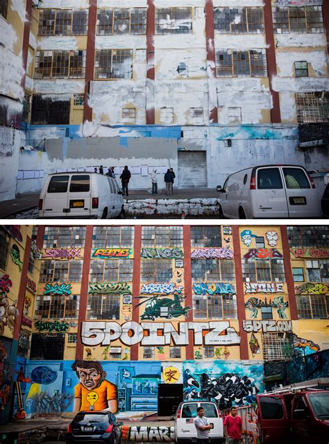 5 Pointz Repainted And Erased Overnight In Queens, New York