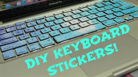 Diy Keyboard Stickers