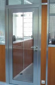 elegant porte de garage et porte vitree interieur bureau With porte de garage et rénovation porte intérieure vitrée