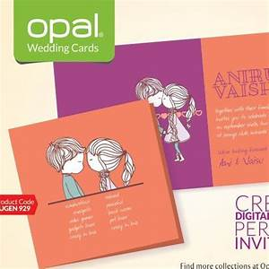 elegant marriage invitation cards by opal wedding cards in With wedding invitation cards designs with price in coimbatore