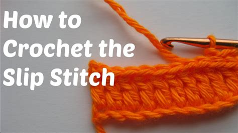 How To Do A by How To Crochet The Slip Stitch Sl St Or Ss In Crochet