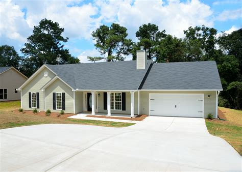 gray  storey house  daytime  stock photo