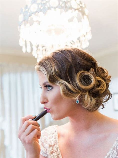1920 S Bridal Hairstyles by Wedding Inspiration In 2019 Bridal Hairstyles Vintage