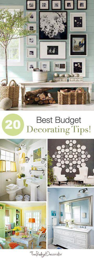 20 Best Budget Decorating Tips!  Model Home Interior Design