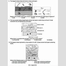 Worksheet  Relative Age Of Bedrock *editable* Tpt
