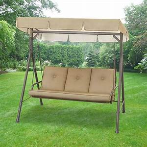3 Person Canopy Swing. Zoom. Replacement Canopy For Garden ...