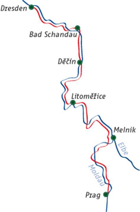 Elberadweg Karte Pdf