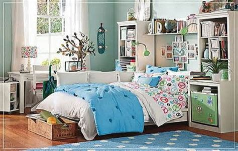 Small Space Teenage Girls Bedroom Decorating Ideas, Girls