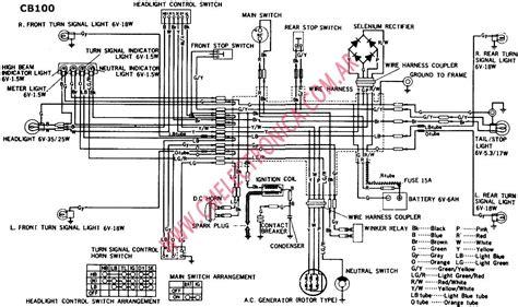 honda wave 100 wiring diagram free auto