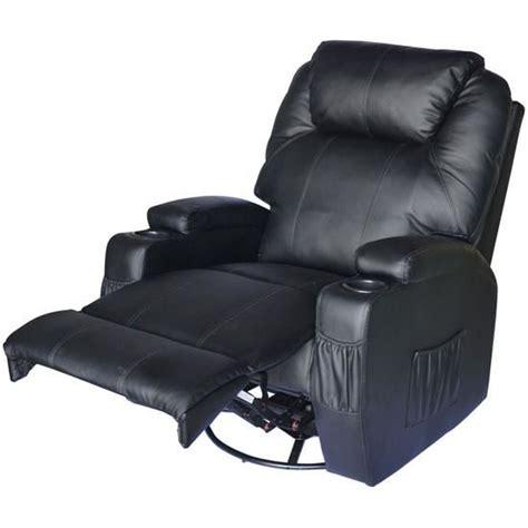 fauteuil chauffant massant electrique fauteuil 233 lectrique chauffant noir achat vente fauteuil imitation cuir cdiscount