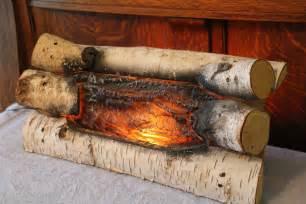 Gas Fireplace Wood Logs