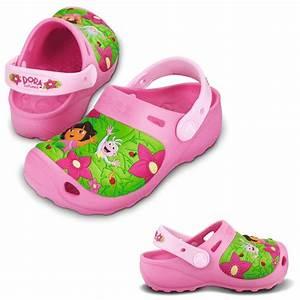 Crocs Dora and Boots Jungle Kids - Tofflor - Vardagsskor ...