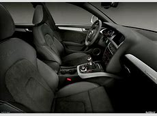 New Audi Interiors with sport package