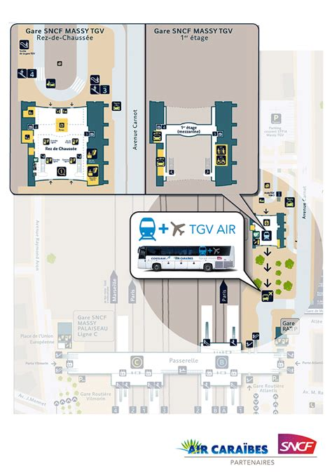 plan des si鑒es air plan d acc 232 s 224 la gare de massy tgv air cara 239 bes