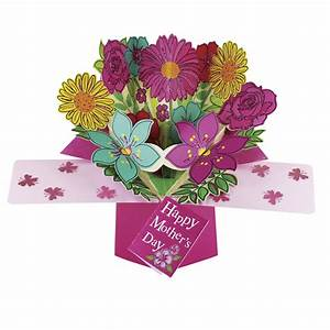 Happy Mother's Day Bunch Flower Pop-Up Greeting Card | Cards