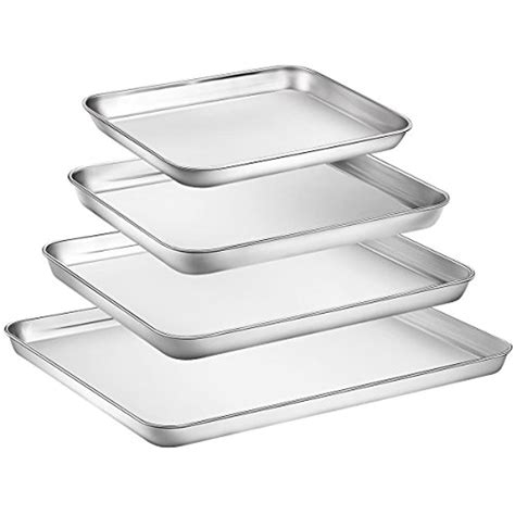 baking sheet toxic tray cookie pan stainless steel non sheets amp