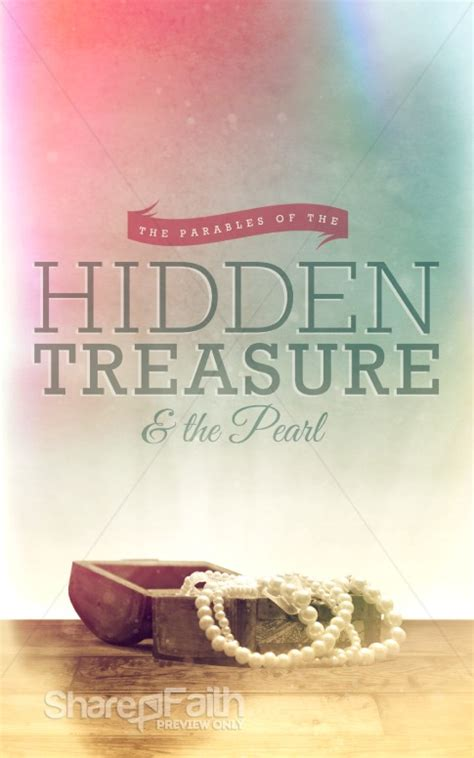 parable   hidden treasure   pearl ministry