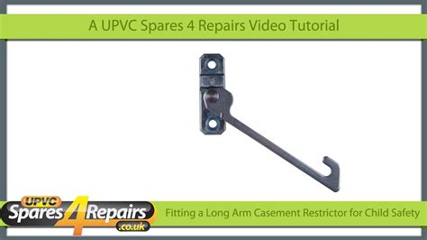 fitting  child safety restrictor   upvc window youtube