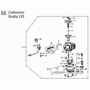 Carburetor For 125cc