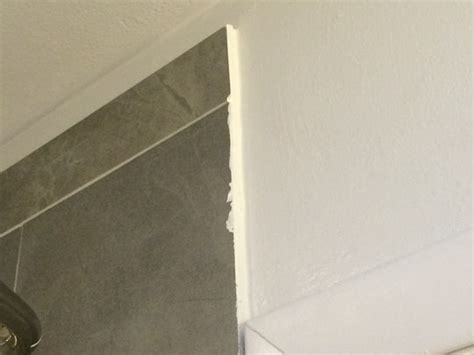 how to make exposed tile edges look finished