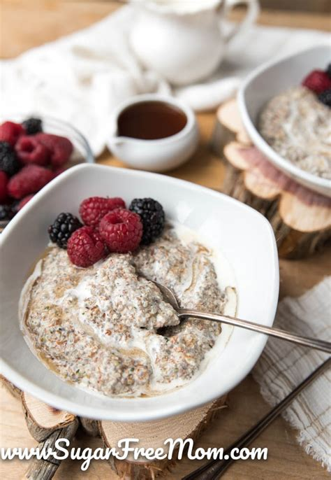carb hot breakfast cereal keto gluten