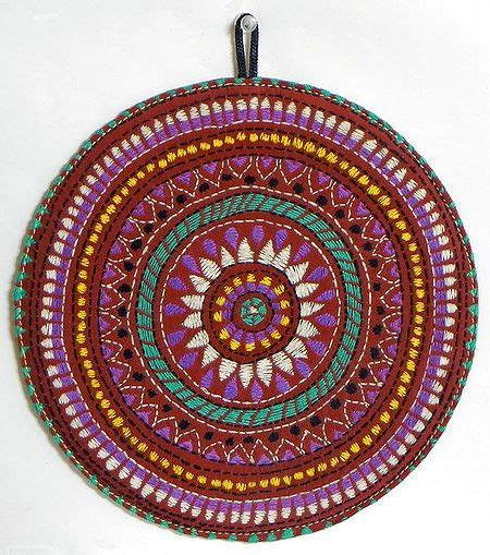 decorative cloth embroidered  wall hanging