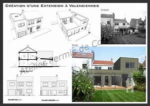 Exemple permis de construire extension mr destock for Agrandissement maison permis de construire