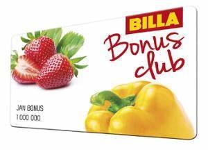 Billa, billa, bonus club Maj, billa body omezenou platnost?