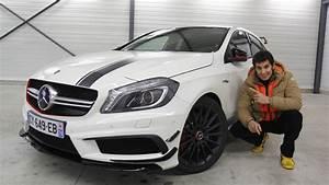 Mercedes Classe C Blanche : les essais de soheil ayari mercedes a45 amg tr s trop joueuse ~ Gottalentnigeria.com Avis de Voitures