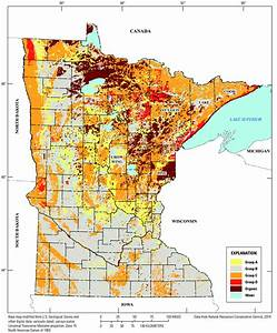 Hydrologic Soil Groups In Minnesota At A 1