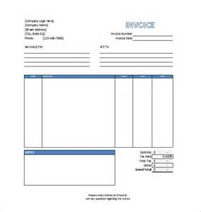 Service Template Excel Invoice Template 41 Free Word Excel Pdf Psd Format Free Premium Templates