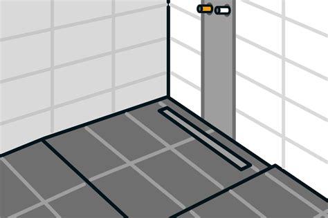 bodengleiche dusche einbauen anleitung bodengleiche dusche einbauen linienentw 228 sserung anleitung hornbach