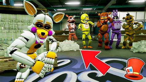 Withered Animatronics Biggest Secret Ever! (gta 5 Mods For