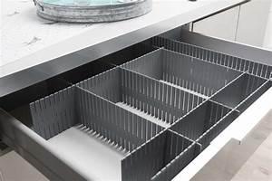 separatore modulare per cassetti Grigio Compactor