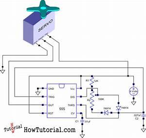 Servo Driver Circuit Schematic