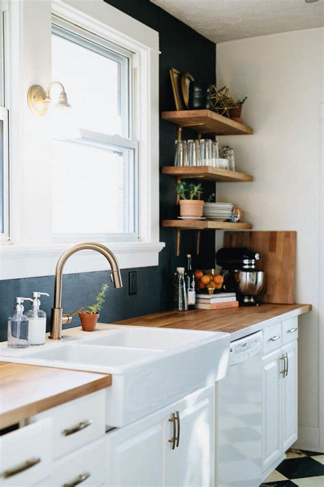 diy kitchen remodel natural honest artistic