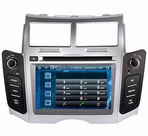 2 Din Head Unit Car Dvd Player For Toyota Yaris 2005 2011