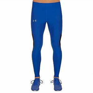 Under Armour Coolswitch v2 Mens Blue Compression Running Tights Bottoms Pants | eBay